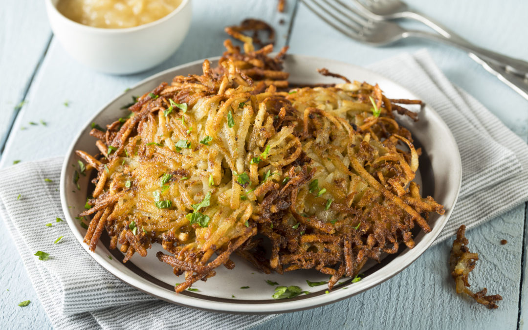 How to Make Perfect Crispy Hanukkah Latkes (Vegan and Grain Free)