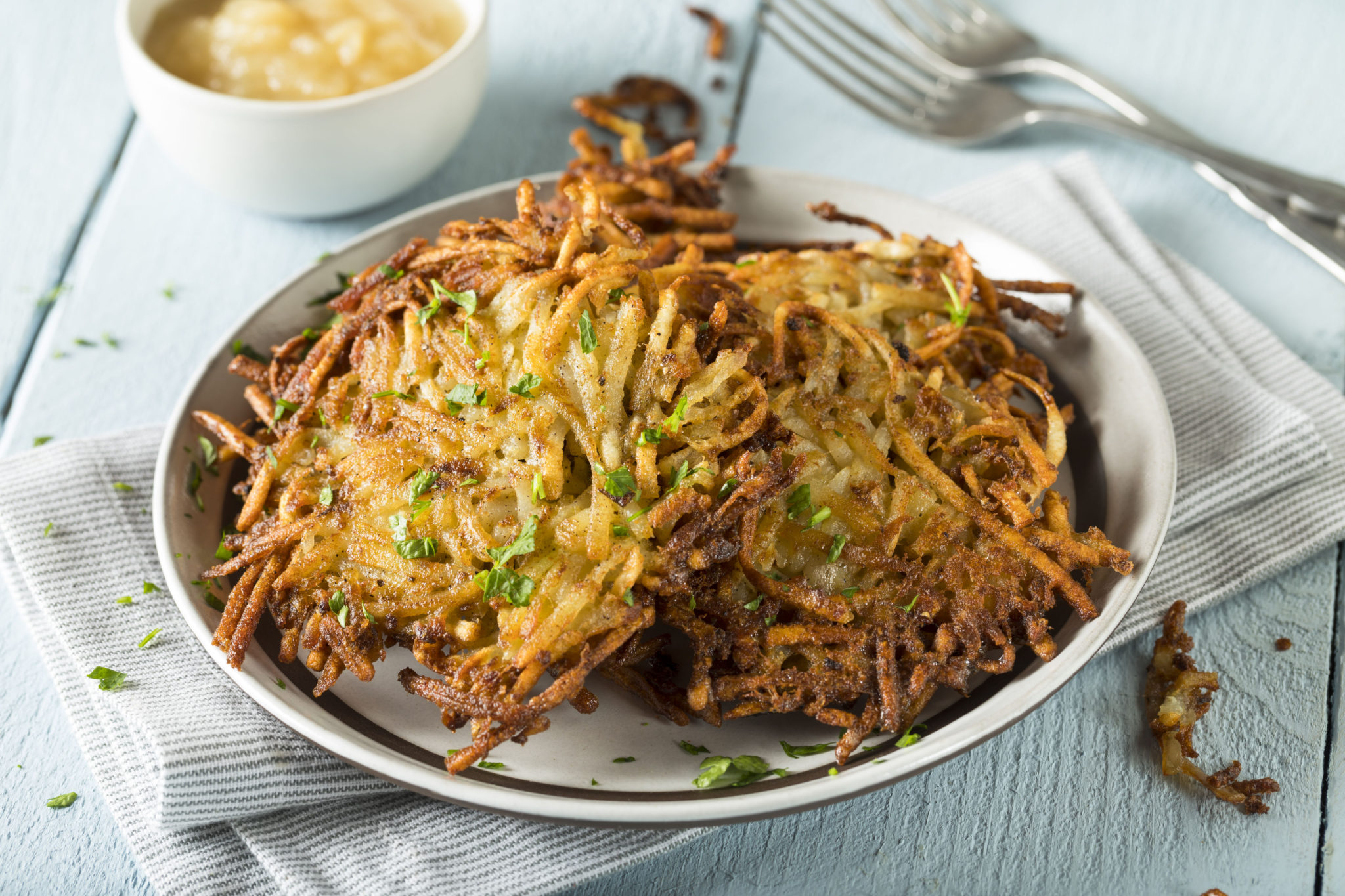 Vegan and Grain Free Latkes